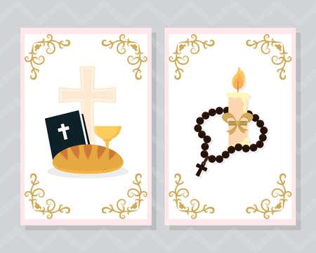 baptism card templates