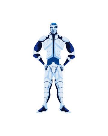 robot android icon Ilustración de vector