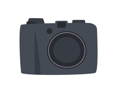 photographic camera tech 矢量图像