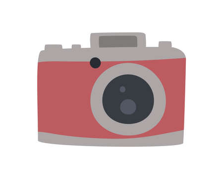 red camera photographic