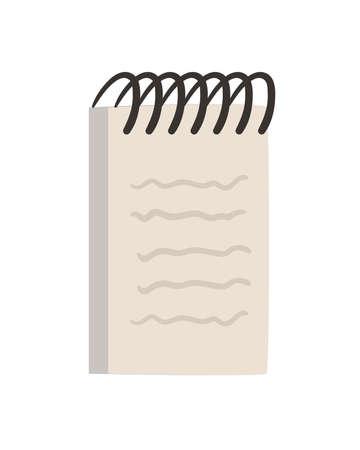 notebook spiral icon