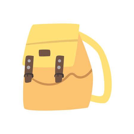 yellow travelbag icon 矢量图像