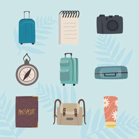 bon voyage nine icons