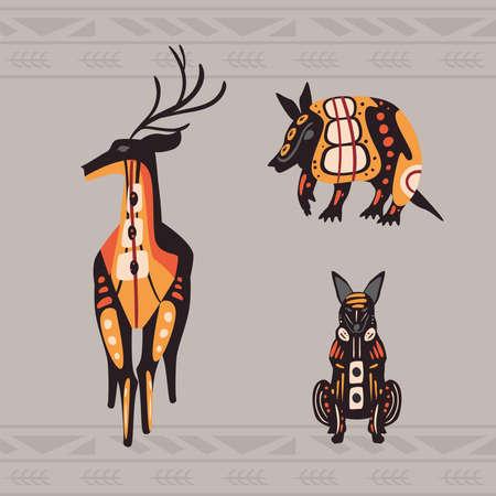 three indigenous animals