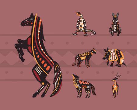 seven indigenous animals