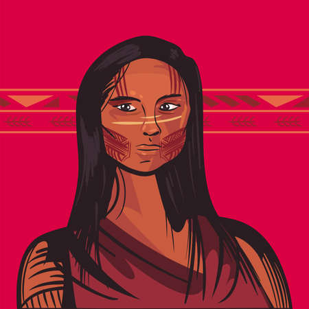 female indigenous character