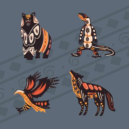 four indigenous animals