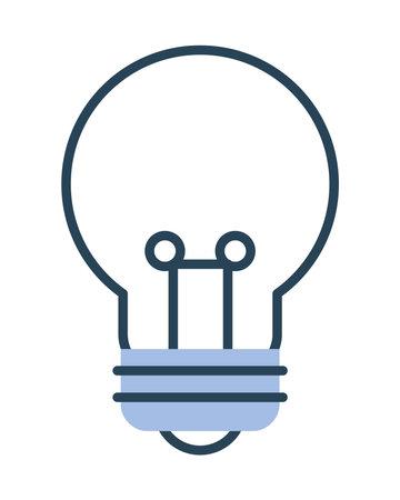 bulb light icon 矢量图像