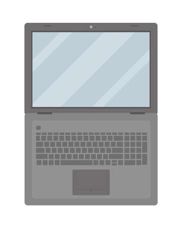 modern laptop icon 矢量图像