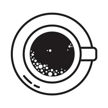 coffee cup design 矢量图像