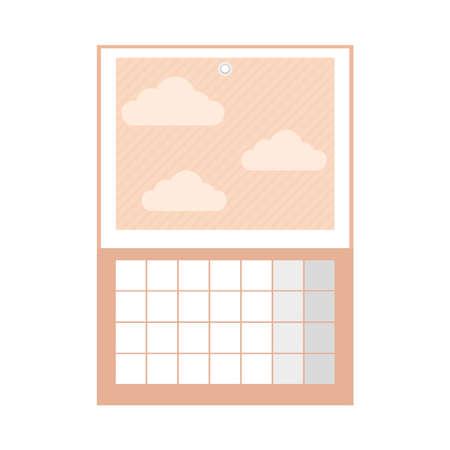 decorative calendar planner