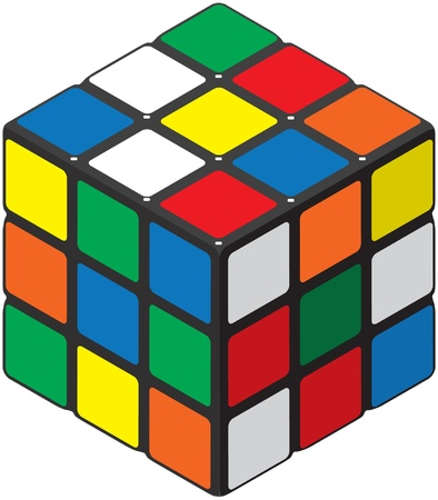 Cube Puzzle Stock Photo - 19342601