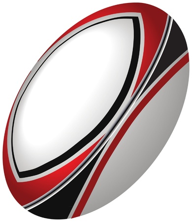 Rugby Ball Stock Vector - 19342603