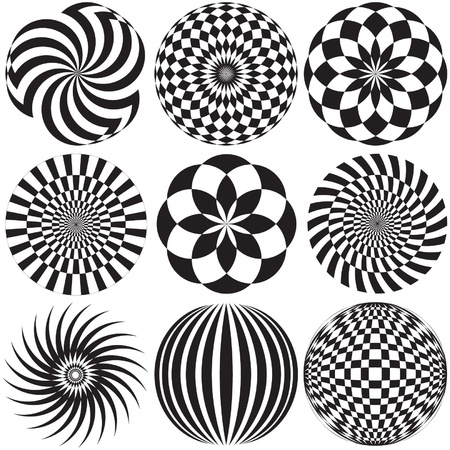 illusions: Optical Art in Black and White