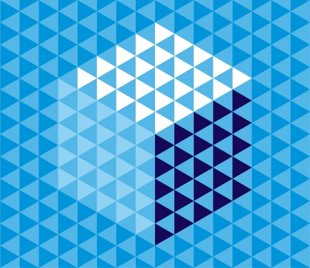 Abstract Triangle Pattern Background  Ilustração