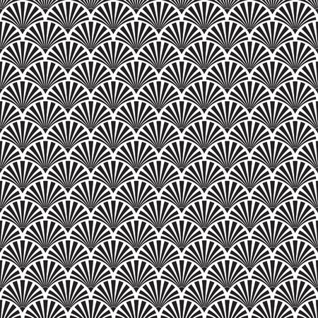 grafische muster: Nahtlose Art-Deco-Texture