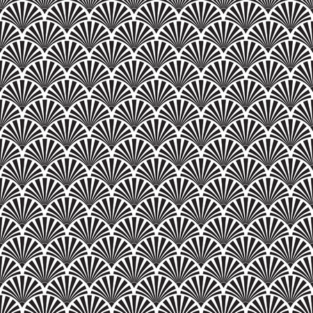 Seamless Art Deco Texture Vector