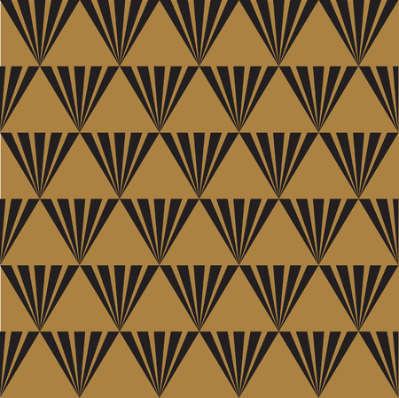 Seamless Art Deco Texture Background Illustration