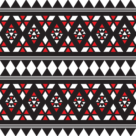 Seamless Ethnic African Texture Background