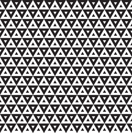 Seamless Art Deco Triangle Pattern Texture