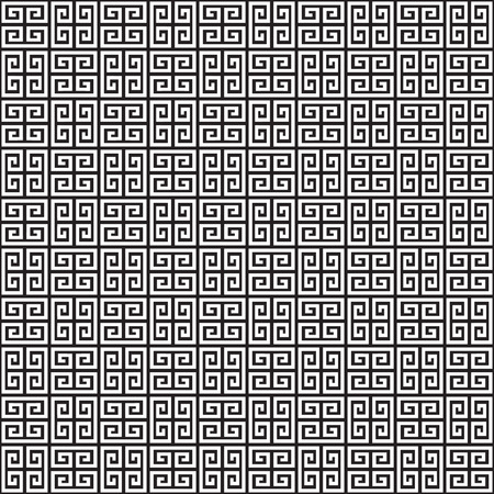 Seamless Greek Key Pattern Texture Vector