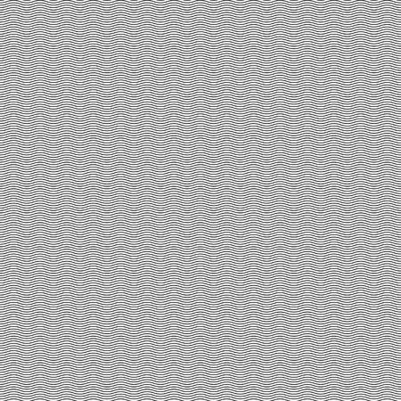 Naadloze patroon golvende lijn achtergrond. Stock Illustratie