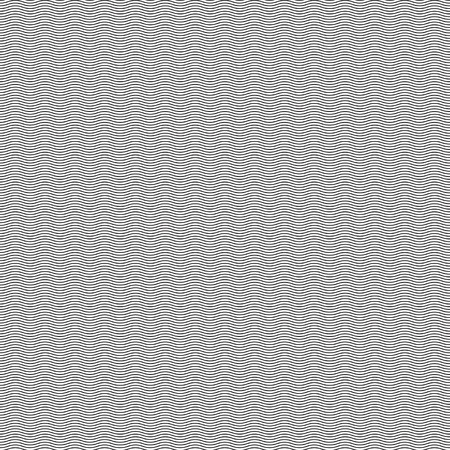 Seamless Wavy Line Pattern Background.  Vector