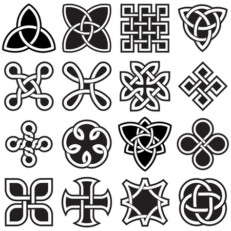 Celtic Knots in Vector Editable Format Vector