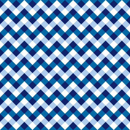 Seamless Checkered Chevron Fabric Pattern Texture Vector