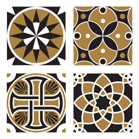 teutonic: Vintage Ornamental Patterns Illustration