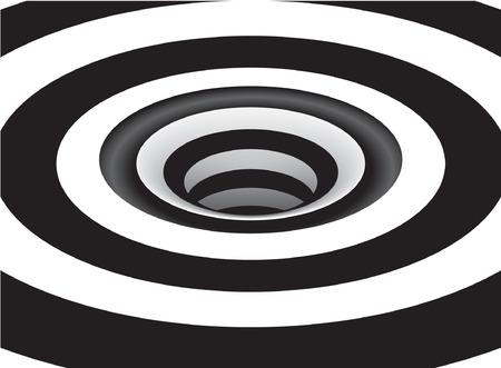 espiral: Optical Art Vortex