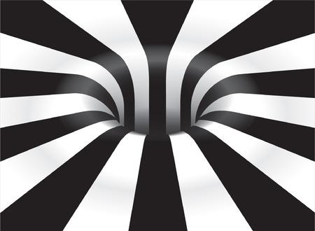 arte optico: Optical Art Vortex