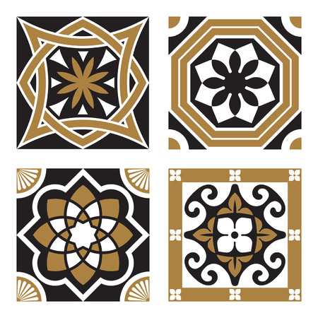 Vintage Ornamental Patterns Illustration