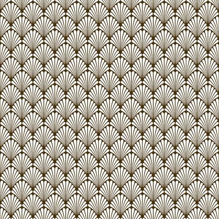 Abstract Seamless Art Deco Vector Pattern Texture Illusztráció