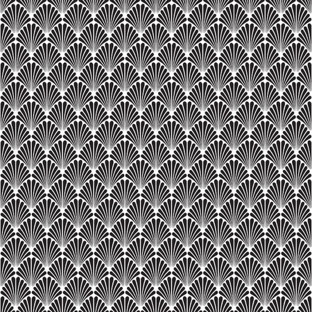 Abstract Seamless Art Deco Vector Pattern Texture  イラスト・ベクター素材