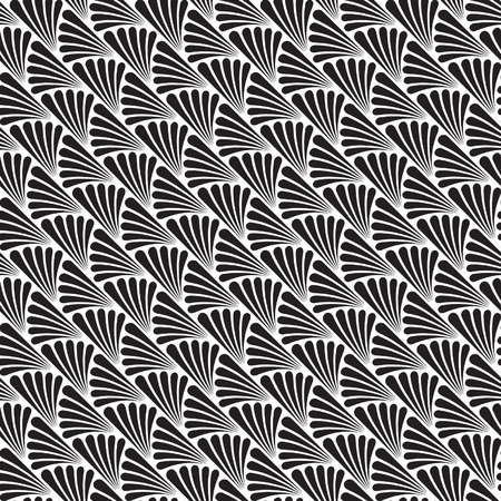 Abstract Seamless Art Deco Vector Pattern Texture Illustration