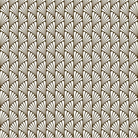 추상 원활한 아트 데코 벡터 패턴 텍스처 스톡 콘텐츠 - 42468146