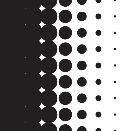 하프 톤 도트 패턴 그라디언트 벡터 형식으로 설정 스톡 콘텐츠 - 42613998