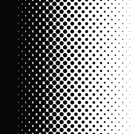 하프 톤 도트 패턴 그라데이션 벡터 형식 설정 스톡 콘텐츠 - 42614004