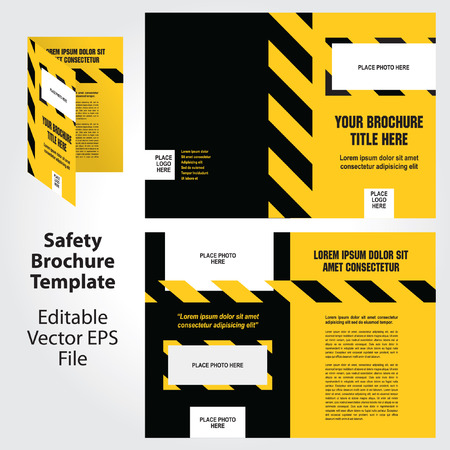 industrial template: Set of Packaging Symbols in Vector Format Illustration