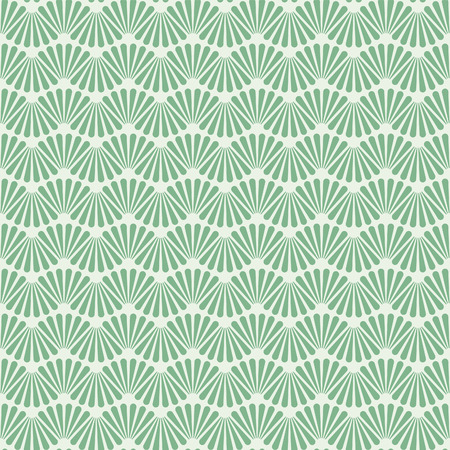 Seamless Art Deco Pattern Texture Wallpaper Background Illustration