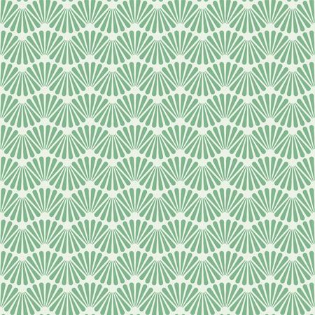 Seamless Art Deco Pattern Texture Wallpaper Background Vettoriali