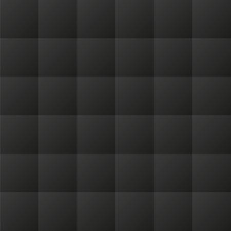 원활한 검은 패딩 된 실내 장식 벡터 패턴 텍스처 스톡 콘텐츠 - 42314855