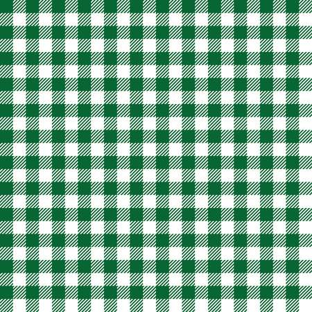 coarse: Seamless Coarse Green Checkered Plaid Fabric Pattern Texture Illustration