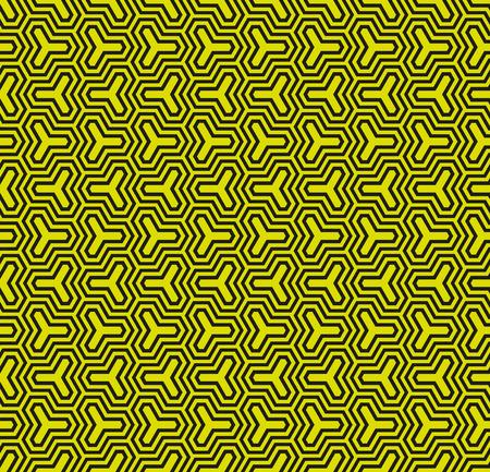 interlocking: Seamless Vector Geometric interlocking Pattern