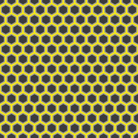 Seamless Honeycomb Pattern Texture