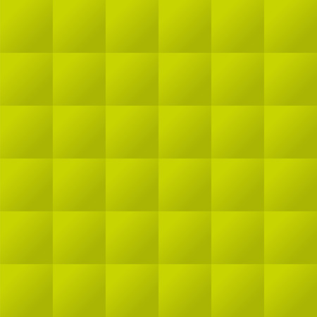 upholstered: Seamless lime green padded upholstery vector pattern texture