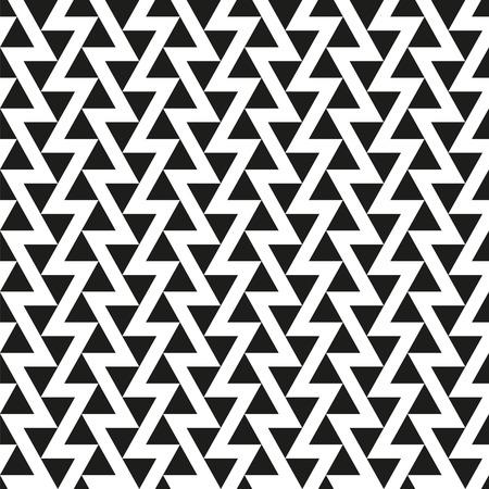 Seamless Offset Triangle Pattern