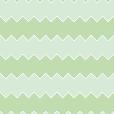 Seamless green sawtooth zig-zag pattern background