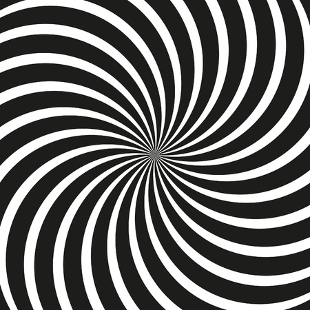 singularity: Vector Op Art Swirl Background
